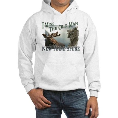 I Miss The Old Man w/Moose Hooded Sweatshirt