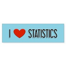 Statistician Gift Bumper Bumper Sticker