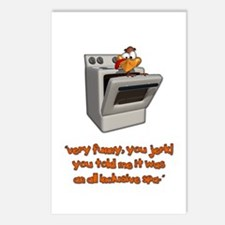 All Inclusive Thanksgiving Postcards (Package of 8