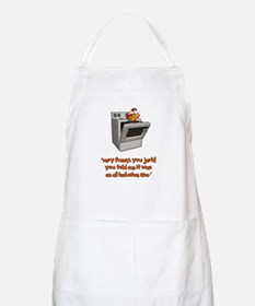 All Inclusive Thanksgiving BBQ Apron