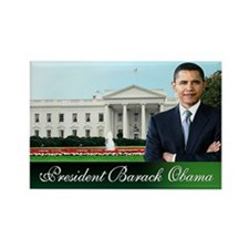 Mr. President (white house) Rectangle Magnet