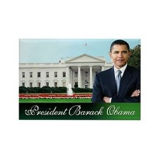 Mr. President (white house) Rectangle Magnet (10 p