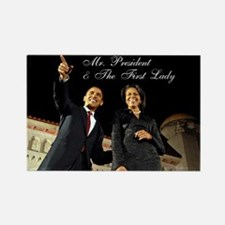 Rectangle Magnet Mr. President & First Lady