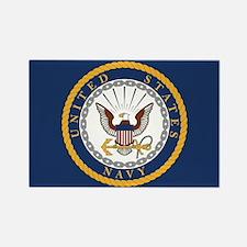 United States Navy Emblem Rectangle Magnet