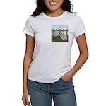 Lavender Guinea Fowl Women's T-Shirt