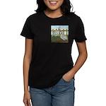 Lavender Guinea Fowl Women's Dark T-Shirt