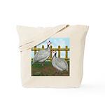 Lavender Guinea Fowl Tote Bag
