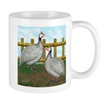 Lavender Guinea Fowl Mug