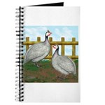 Lavender Guinea Fowl Journal