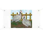 Lavender Guinea Fowl Banner