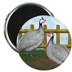 "Lavender Guinea Fowl 2.25"" Magnet (100 pack)"