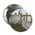 "Lavender Guinea Fowl 2.25"" Button (100 pack)"