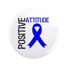 """Colon Cancer Attitude 3.5"""" Button"""