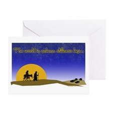 Christmas Mary and Joseph Greeting Card