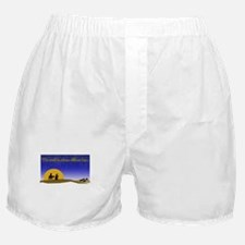 Christmas Mary and Joseph Boxer Shorts