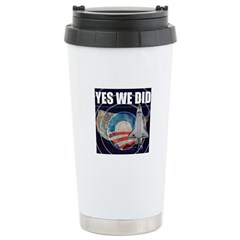 Yes We Did Global Travel Mug