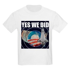 Yes We Did Global T-Shirt