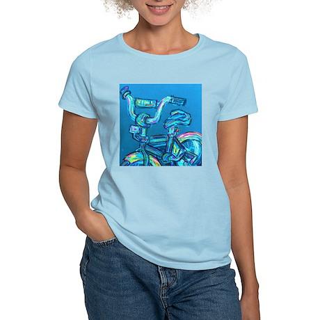 A Blue Bike Women's Light T-Shirt