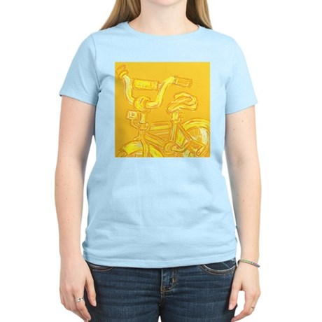 A Yellow Bike Women's Light T-Shirt