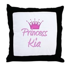Princess Kia Throw Pillow