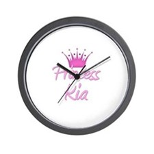 Princess Kia Wall Clock