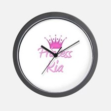 Princess Kia Wall Clock