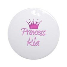 Princess Kia Ornament (Round)
