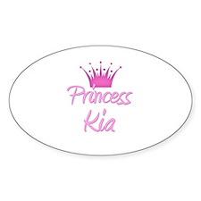 Princess Kia Oval Decal