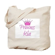Princess Kia Tote Bag