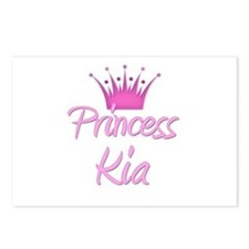 Princess Kia Postcards (Package of 8)