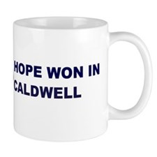 Hope Won in CALDWELL Mug