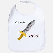 """""""Cut to the Heart"""" Bib"""