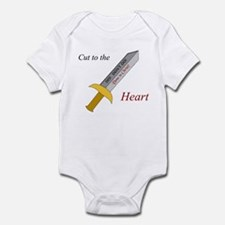 """""""Cut to the Heart"""" Infant Bodysuit"""