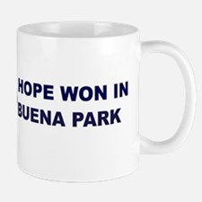 Hope Won in BUENA PARK Mug