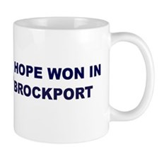 Hope Won in BROCKPORT Mug