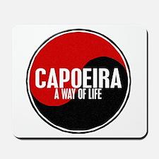 CAPOEIRA A Way Of Life Yin Yang Mousepad