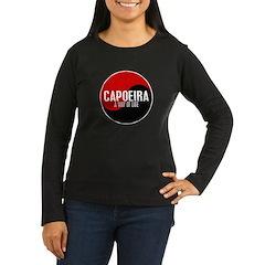 CAPOEIRA A Way Of Life Yin Yang T-Shirt