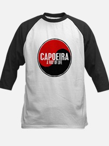 CAPOEIRA A Way Of Life Yin Yang Kids Baseball Jers