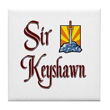 Sir Keyshawn Tile Coaster