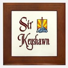 Sir Keyshawn Framed Tile