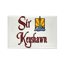 Sir Keyshawn Rectangle Magnet