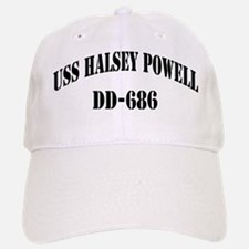 USS HALSEY POWELL Baseball Baseball Cap