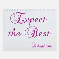 Expect the Best #155 Abraham Wisdom Wall Calendar