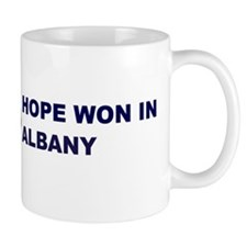 Hope Won in ALBANY Mug