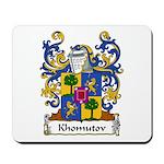 Khomutov Family Crest Mousepad