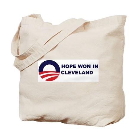 Hope Won in CLEVELAND Tote Bag