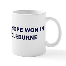 Hope Won in CLEBURNE Mug