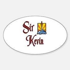 Sir Kevin Oval Decal
