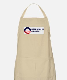 Hope Won in CHICAGO BBQ Apron