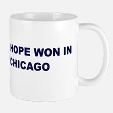 Hope Won in CHICAGO Mug